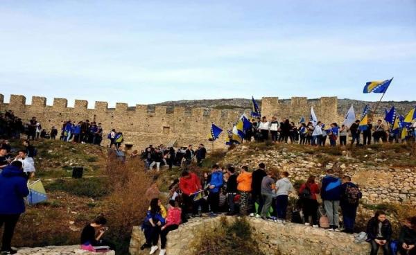 Posjeta tvrđavi herceg Stjepana Kosače u Blagaju