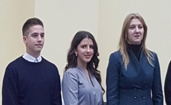 Senad Bajat među najboljim učenicima u Federaciji Bosne i Hercegovne